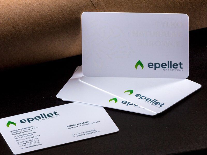Prime Business Cards | Plastic PVC card with UV print- Epellet