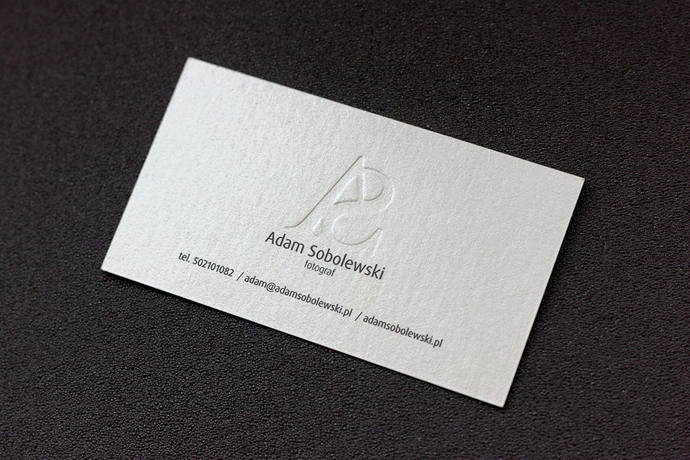 Prime business cards white paper card with embossing adam premium white embossed 2 colourmoves